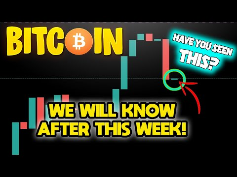 THIS BITCOIN WEEKLY CANDLE WILL DECIDE THE CRYPTOCURRENCY BULL MARKET!