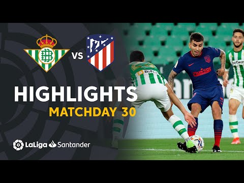 Betis Atletico Madrid Goals And Highlights