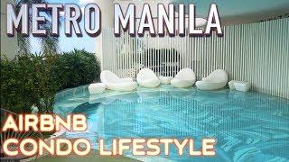 Gambar cover Metro Manila Airbnb Condo Lifestyle | Acqua private residences Makati Philippines