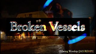 Hillsong Worship Broken Vessels Jax Remix Dance with Poi Swing Spin Flags Ft Claire CALLED TO FLAG