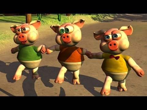 Los Tres Chanchitos - Canciones Infantiles de la Granja Videos De Viajes