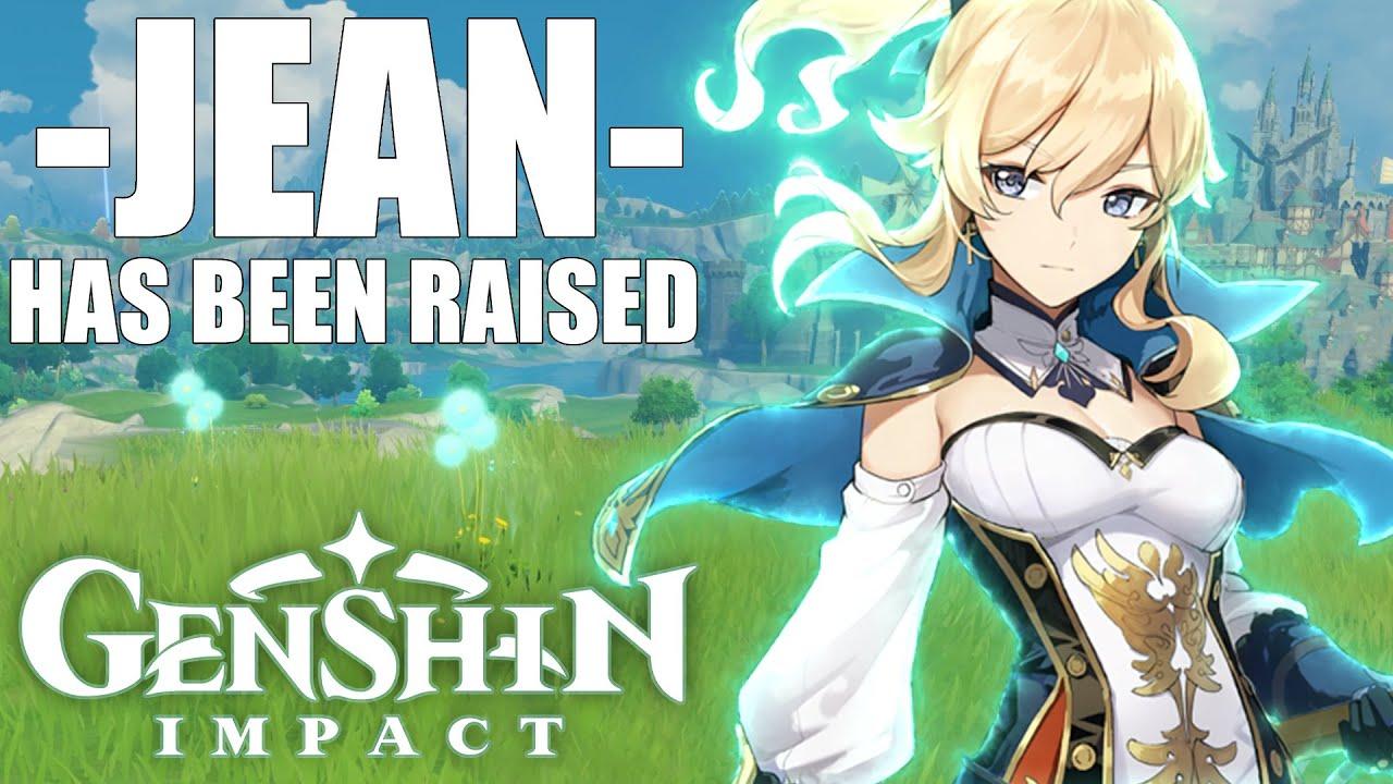 I FINALLY RAISED JEAN! (Genshin Impact)