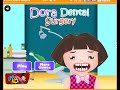 "Dora The Explorer Cartoon Online Game  "" Dental Surgery """