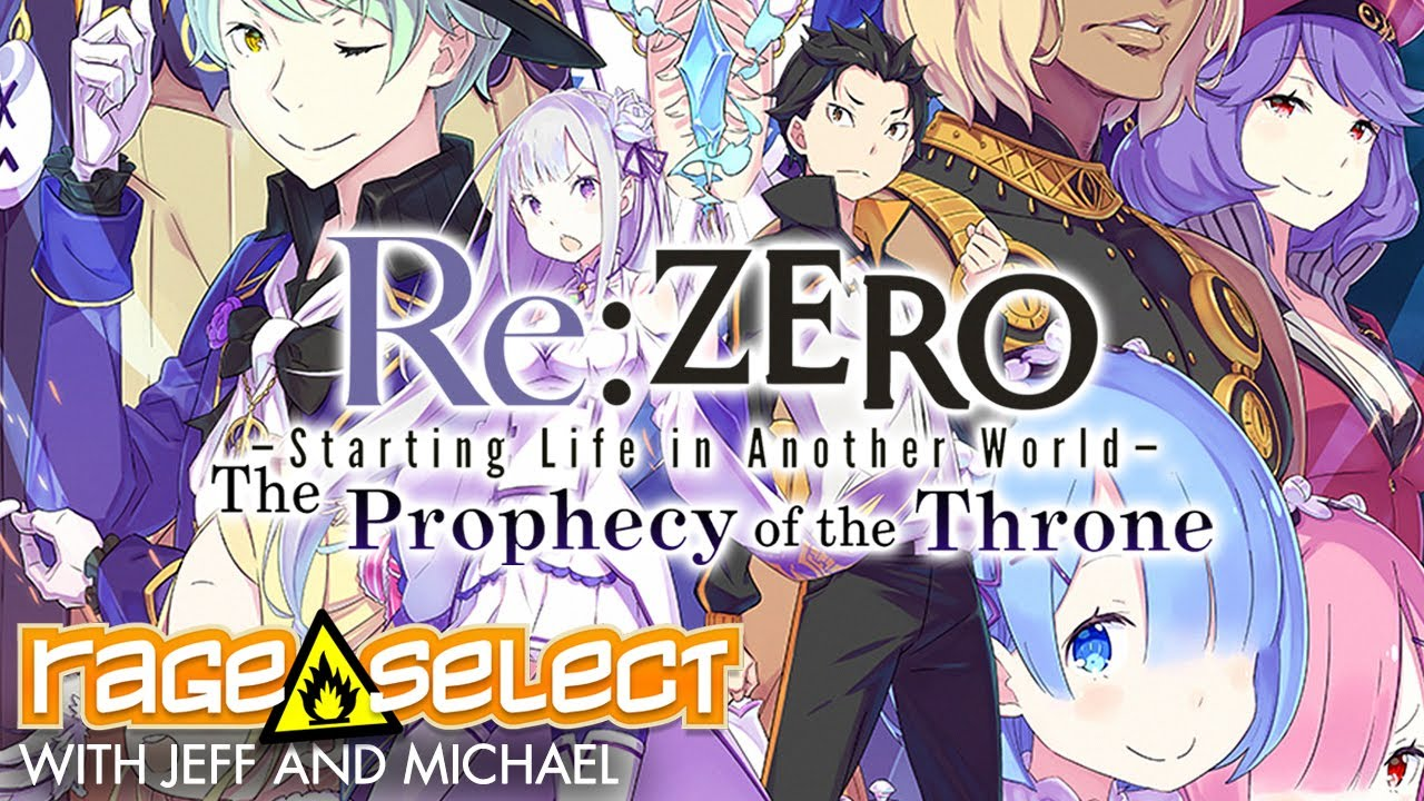 Re:ZERO - Starting Life in Another World: The Prophecy of the Throne (The Dojo) Let's Play