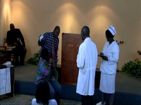 "2011 Creole Classes Graduation Service Part 1. The skit is called ""AH, OU PALE KREYOL TOU?"