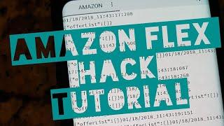 Amazon Flex Hack-Tutorial for New Users