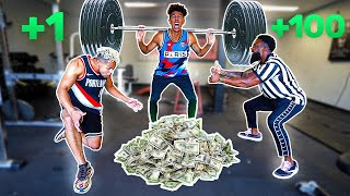 1 Rep = $1 Dollar Squat Workout Challenge!