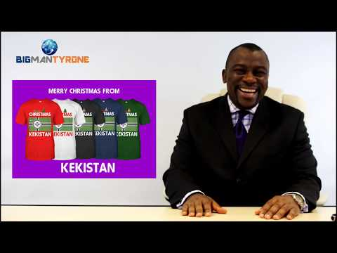 Tyrone Wishes Merry Christmas To All From Kekistan