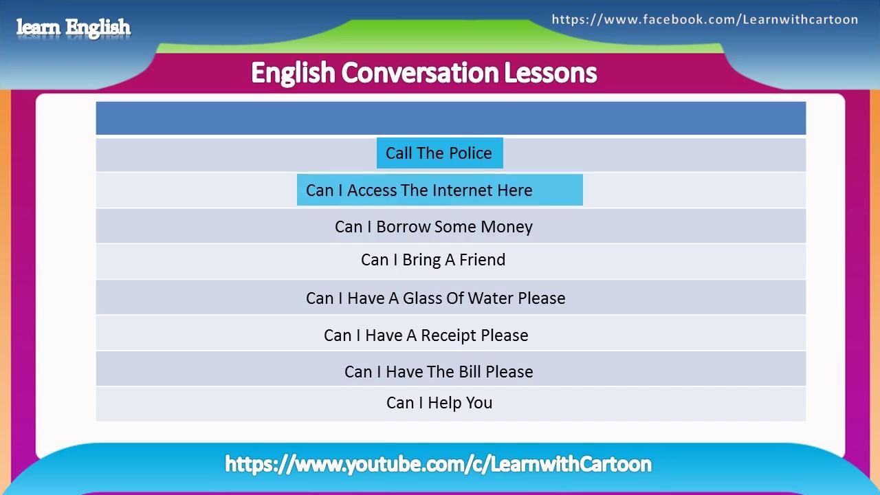 everyday english-basic english conversation- daily english conversation  dialogues