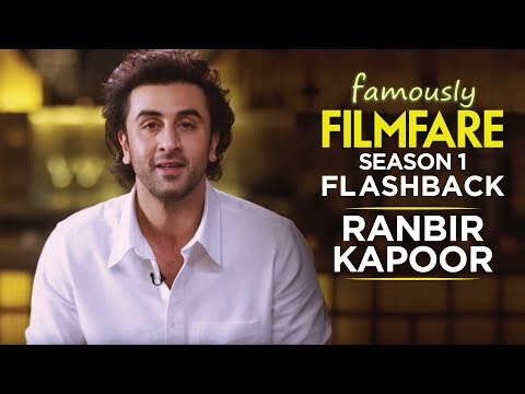 Up close and personal with Ranbir Kapoor | Ranbir Kapoor Interview | Famously Filmfare 1 | Throwback