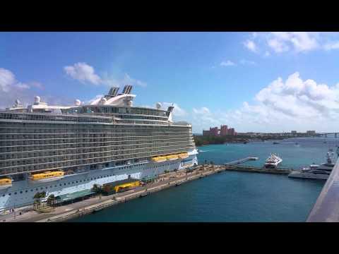 Oasis of the seas port Nassau Bahamas Atlantis