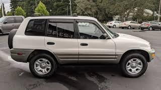 2000 Toyota RAV4  Used Cars - Tacoma,WA - 2019-09-15