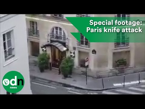 Special footage: Paris Knife Attack