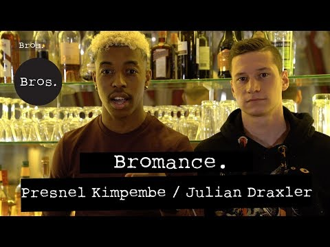 JULIAN DRAXLER / PRESNEL KIMPEMBE | Bromance | Brüderschaft in Paris