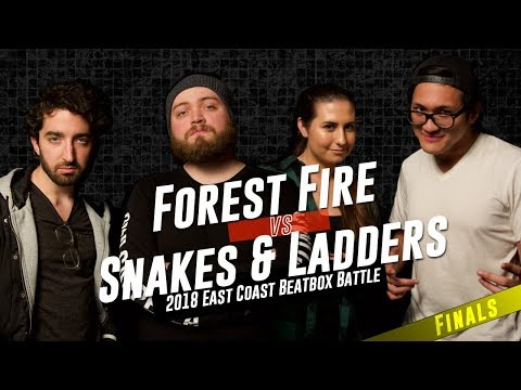 Forest Fire vs Snakes and Ladders | Tag Team Finals | East Coast Beatbox Battle 2018