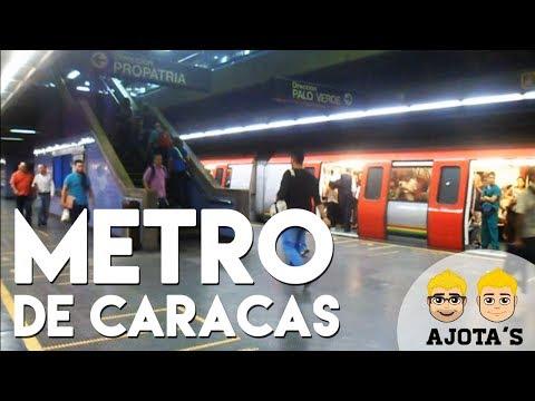 UN DÍA EN EL METRO DE CARACAS - AJOTA'S