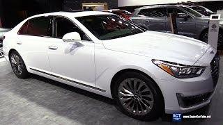 2018 Genesis G90 - Exterior and Interior Walkaround - 2018 Montreal Auto Show