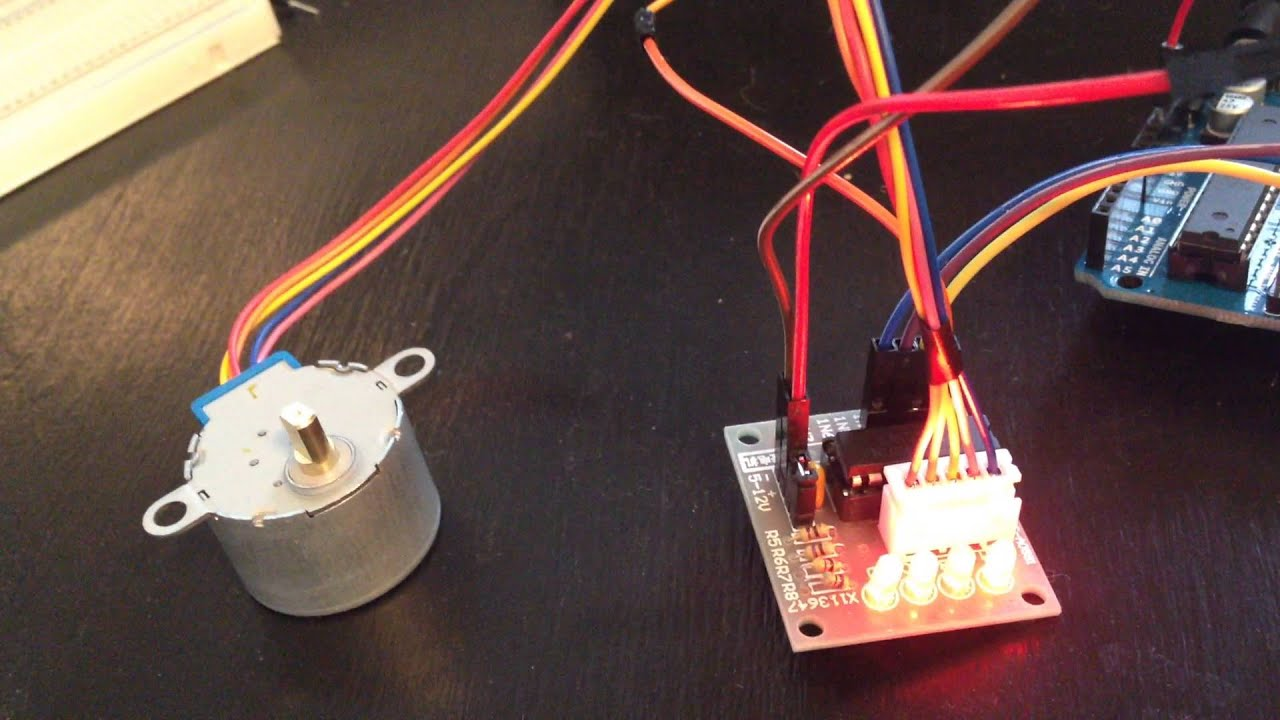 Arduino 5V 4-Phase 5-Wire Step Motor + Driver Board from ...
