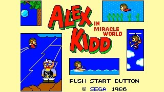Alex Kidd In Miracle World Full Playthrough Sega Master System