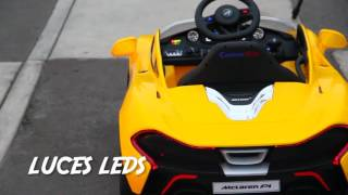 McLaren P1 Electric Kids Ride on Car 669R ShoppersPakistan