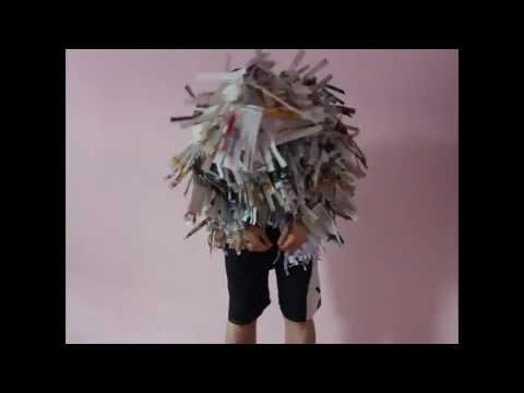 paper chicken man