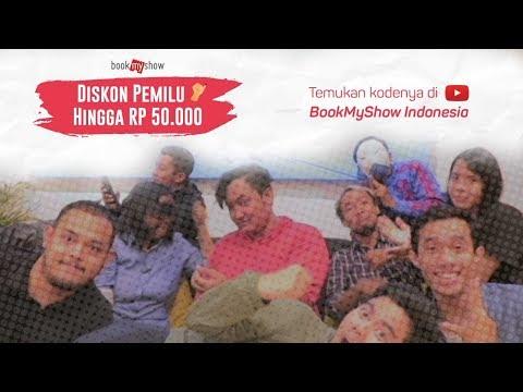 DISKON Pemilu 2019 Hingga Rp 50.000 di BookMyShow Indonesia