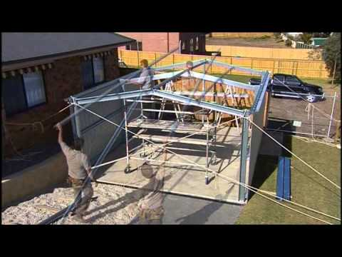 Fair Dinkum Sheds Construction Video