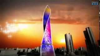 Невероятный,крутящийся небоскреб в Дубае(Крутящийся небоскреб в Дубае., 2013-12-11T10:26:34.000Z)