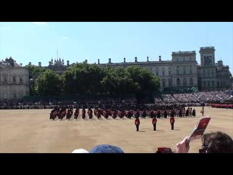 2017 TROOPING THE COLOUR MASSED BANDS
