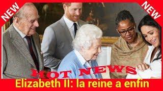 Elizabeth II: la reine a enfin rencontré aujourd'hui son arrière petit-fils