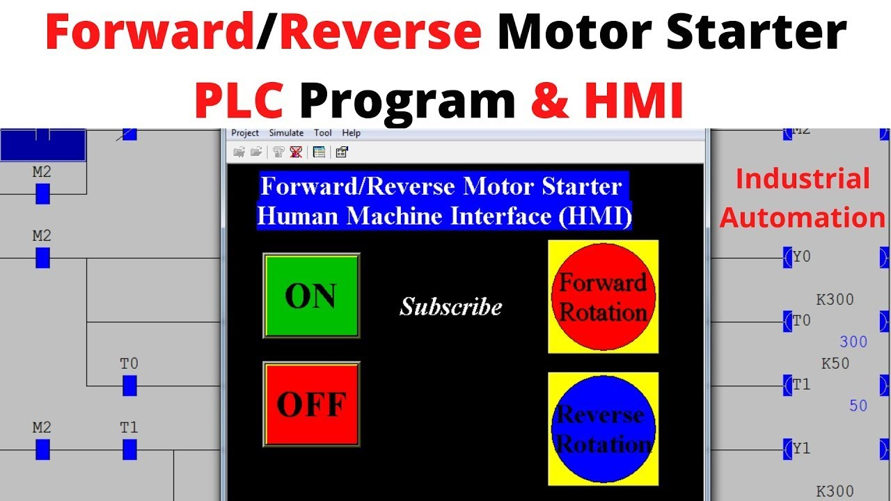 Diagram Plc Implementation Of Forward Reverse Motor Circuit With