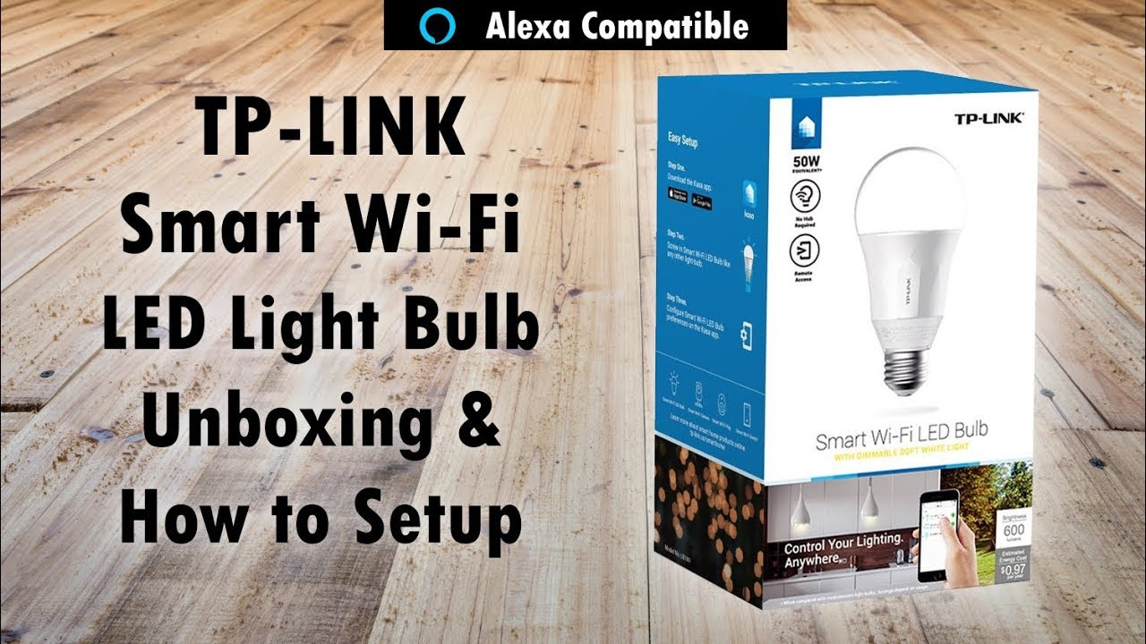 Control Your Lights From Your Phone Amp Alexa Tp Link