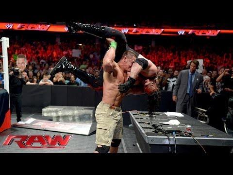 John Cena vs. Kane - Stretcher Match: Raw, June 17, 2014