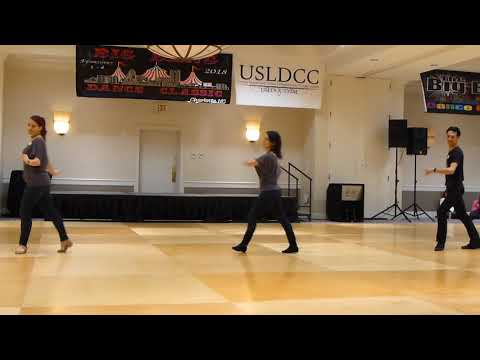 The Good Part Line Dance by Amy Bailey Demo @ 2018 Big Bang