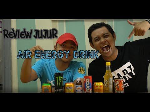 KAMI CUBA 8 JENIS ENERGY DRINK (REVIEW JUJUR)