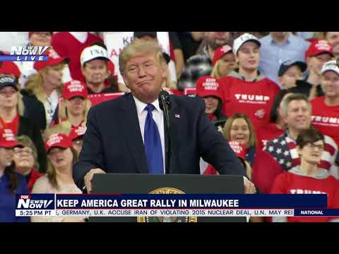 FULL RALLY: President Trump Event In Milwaukee, Wisconsin