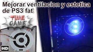 Mejorar la refrigeración y estilo de tu PS3
