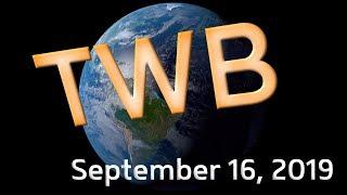 Tropical Weather Bulletin (Humberto, Kiko, Peipah) - September 16, 2019