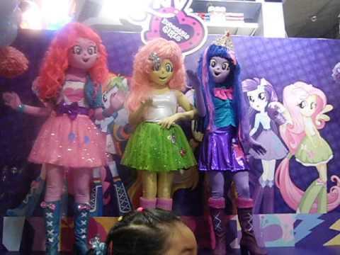 Presentacion De Las Equestria Girls Youtube