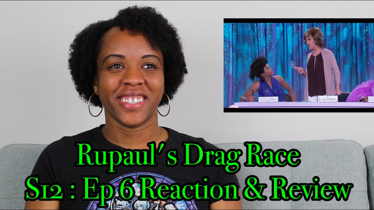 """Download RuPaul's Drag Race S12 : Ep 6, """"Snatch Game"""" Reaction & Review!"""