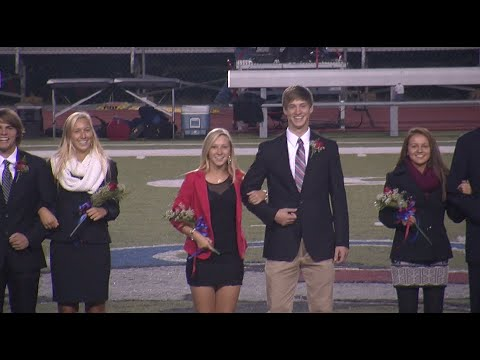 2014 Selinsgrove Area High School Homecoming Ceremony