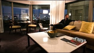 Cameron Fous Day Trades From Executive Suite 5 Star Hotel in Tokyo, Japan