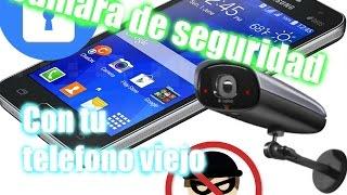 """Una aplicación para tener una """"cámara de seguridad"""" sin Internet"""