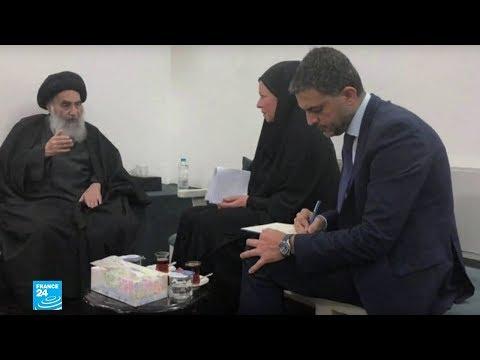 السيستاني يدعم خطة الأمم المتحدة لحل الأزمة في العراق  - 11:00-2019 / 11 / 12