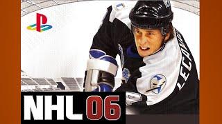 NHL 06 Gameplay Sentors Red Wings PS2 {1080p 60fps}