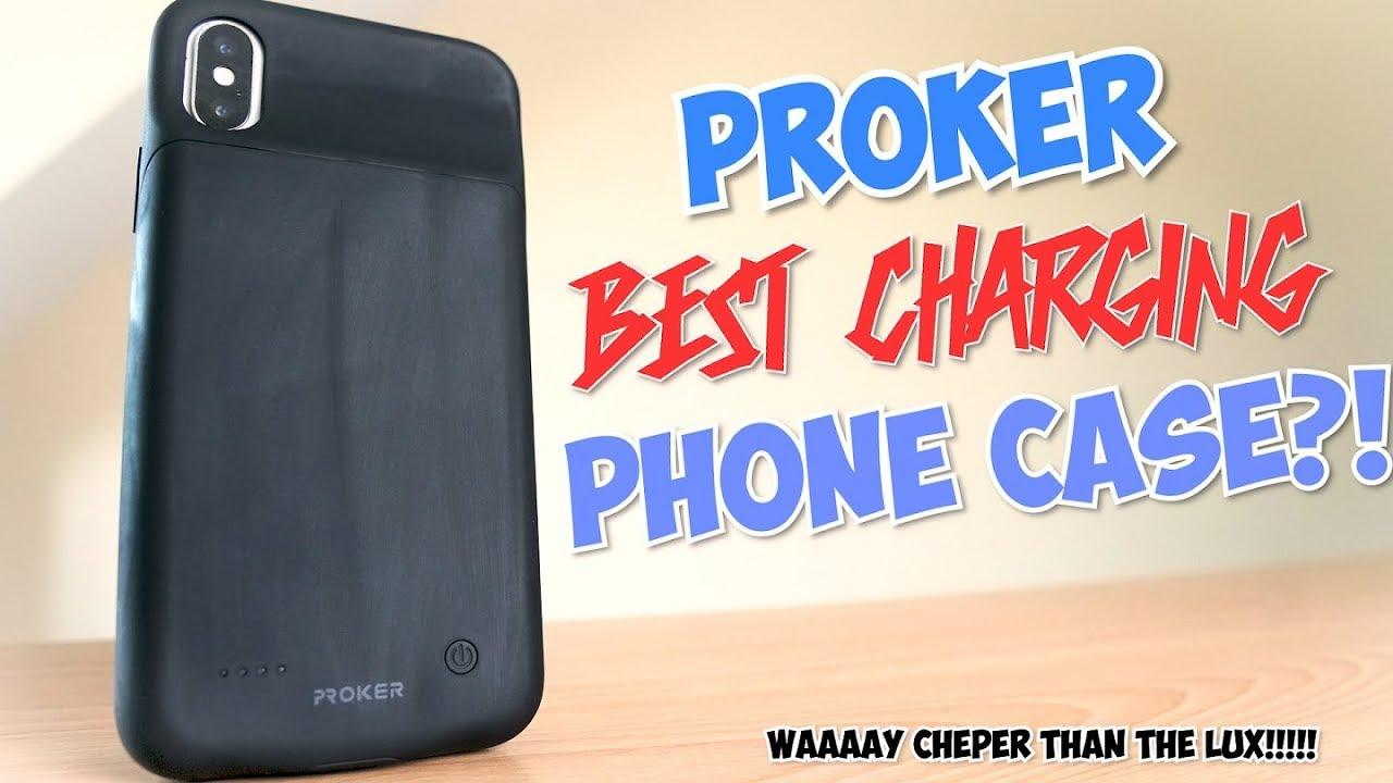 online store e9f52 da019 Ultimate iPhone X Battery Case - Proker cases/Cheaper than the Lux