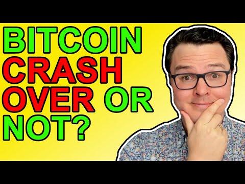 Bitcoin Crypto Crash Over?
