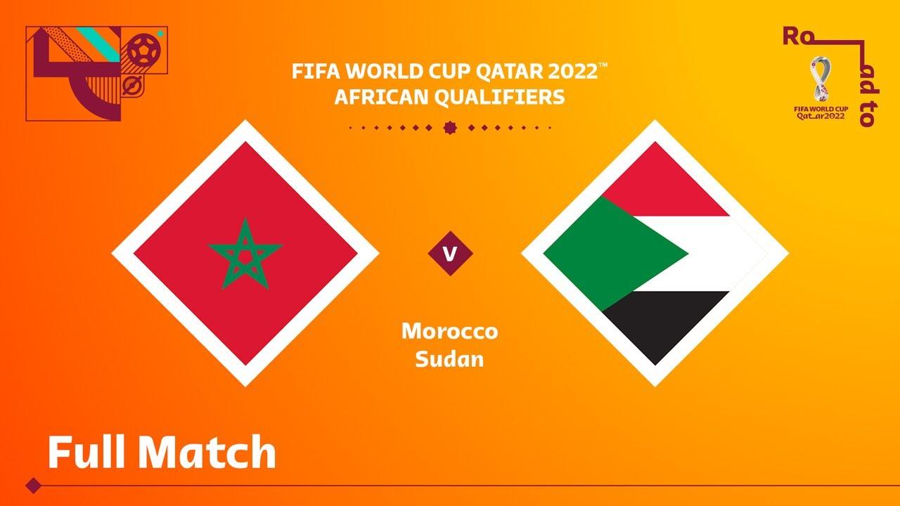 Maroc v Soudan | Qualifications pour la Coupe du Monde de la FIFA, Qatar 2022