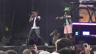 ANDERSON .PAAK Brings Out YBN CORDAE To Perform RNP @ Made In America 2019