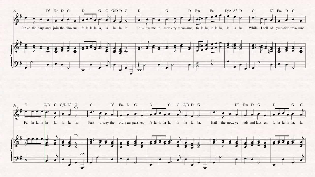 Soprano Sax - Deck the Halls - Christmas Sheet Music, Chords ...